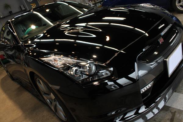 日産 GT-R ボンネット2