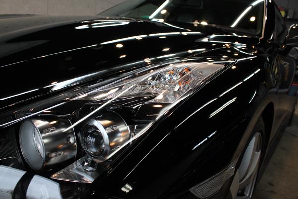 日産 GT-R ヘッドライト