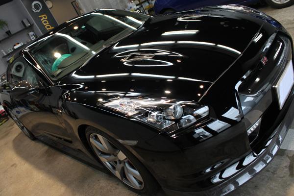 日産 GT-R ボンネット3