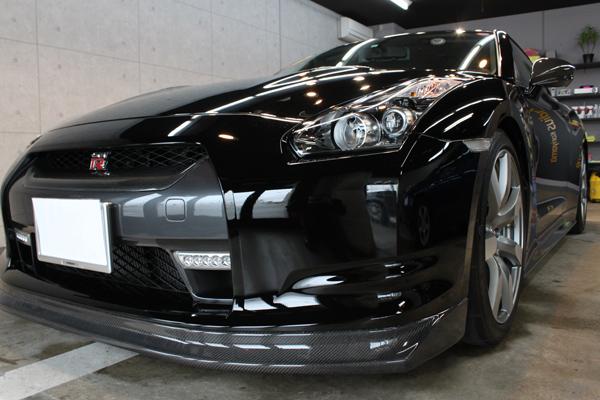 日産 GT-R フロントバンパー1