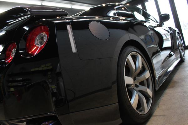 日産 GT-R 右クォーター