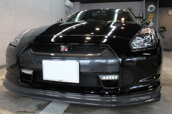 日産 GT-R フロントバンパー2
