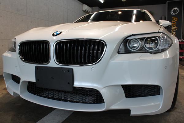 BMW M5 フロントバンパー2