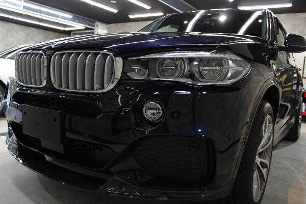 BMW X5 カーボンブラック キドニーグリル