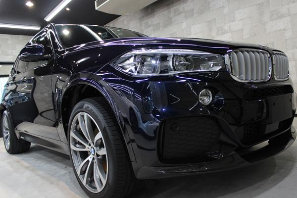 BMW X5 カーボンブラック フロントバンパー1