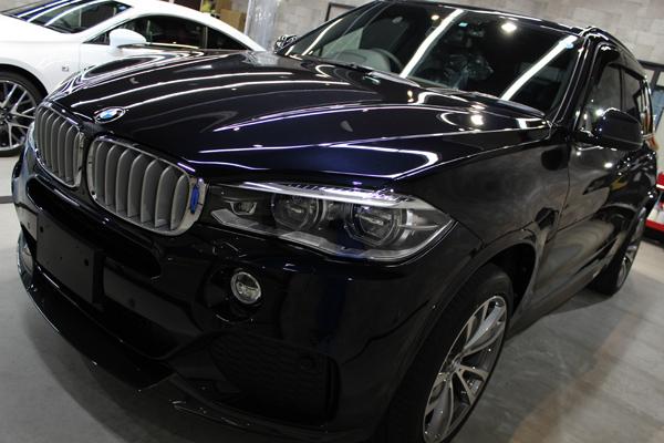 BMW X5 カーボンブラック 左フェンダー
