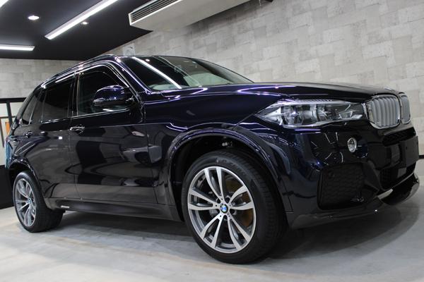 BMW X5 カーボンブラック 右ドア