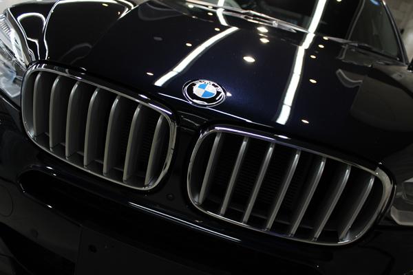 BMW X5 カーボンブラック ボンネット2