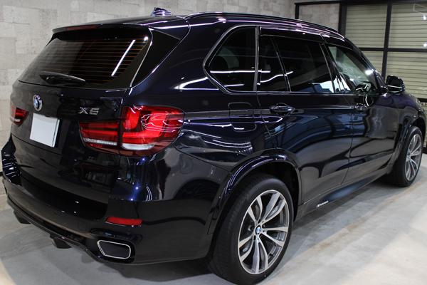 BMW X5 カーボンブラック リアバンパー1
