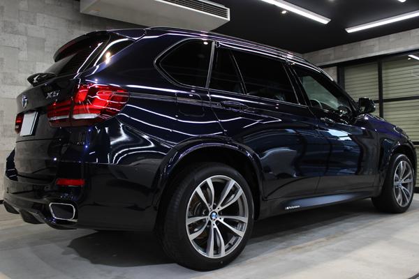 BMW X5 カーボンブラック リアバンパー2
