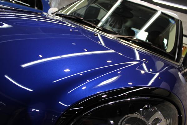 BMW ミニ クーパーS ペースマン ボンネット2