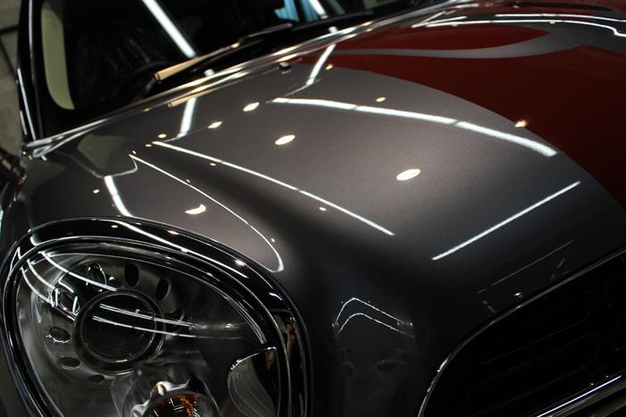 15026044BMW ミニ クーパーSD クロスオーバー パークレーン アールグレー ボンネット アップ06.jpg