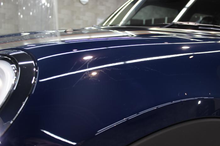 BMW ミニ7 ラップガード跡1