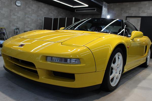 ホンダ NSX-R フロントバンパー1
