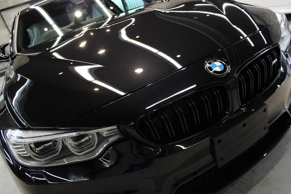 BMW M4 ブラックサファイア キドニーグリル