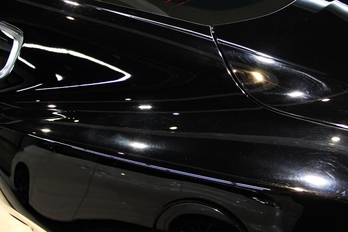フォード マスタング ブラック クォーター 施工前