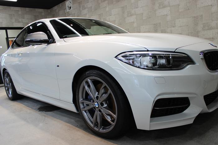 BMW M235i ミネラルホワイト ホイール