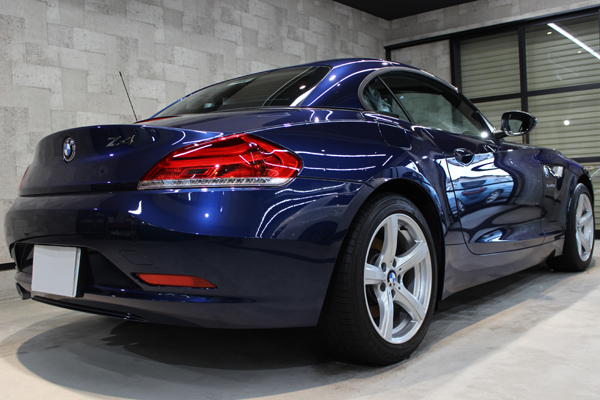 BMW Z4 リアバンパー2