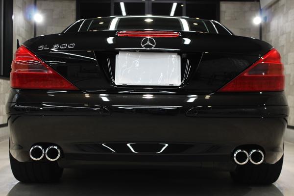 メルセデスベンツ SL600 オプシディアンブラック リアバンパー2