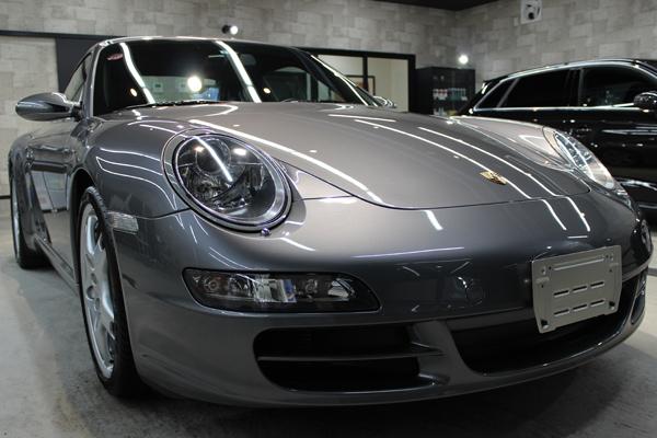 ポルシェ 911 カレラS 997 フロントバンパー2