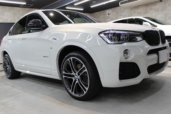 BMW X4 Mスポーツ アルピンホワイト ホイール2