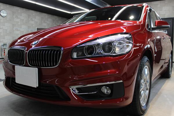 BMW 218d キドニーグリル