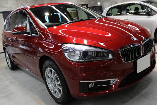 BMW 218d ヘッドライト