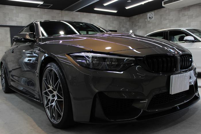 BMW M4 スタディ シャンパンクオーツ キドニーグリル