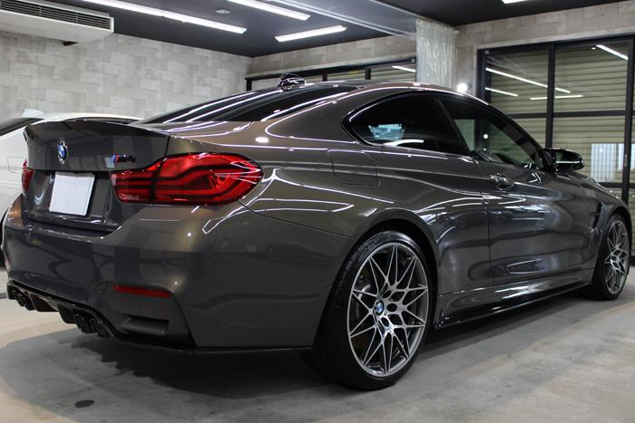 BMW M4 スタディ シャンパンクオーツ ホイール3