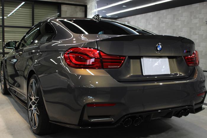 BMW M4 スタディ シャンパンクオーツ リアバンパー