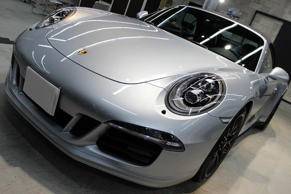 ポルシェ 911 GTS カブリオレ 左ヘッドライト
