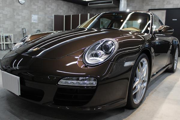 ポルシェ 911 フロントバンパー1
