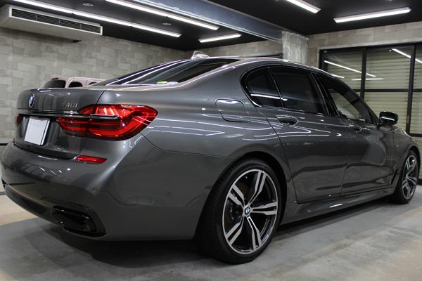 BMW 740i Mスポーツ マジェリングレーメタリック ホイール2