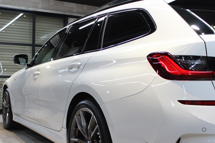 BMW M340i アルピンホワイト 左クォーター