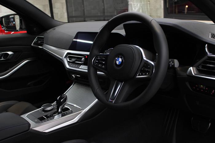 BMW M340i アルピンホワイト 内装コーティング ダッシュボード