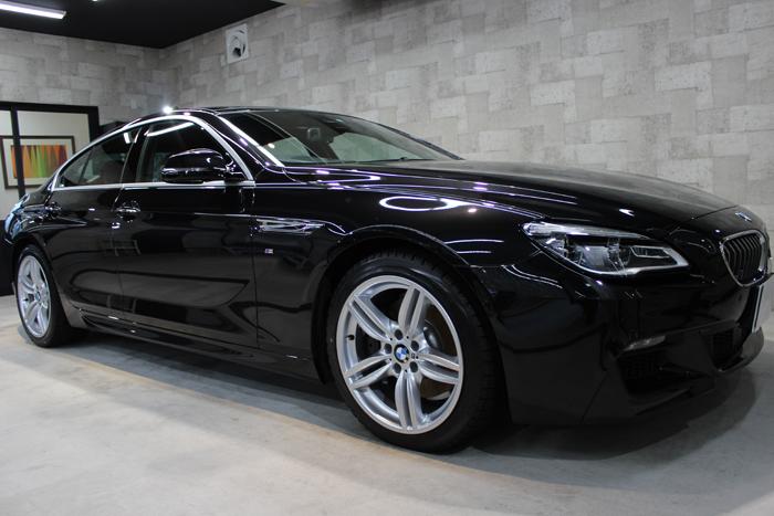 BMW 640i グランクーペ Mスポーツ ブラックサファイア 右ドア