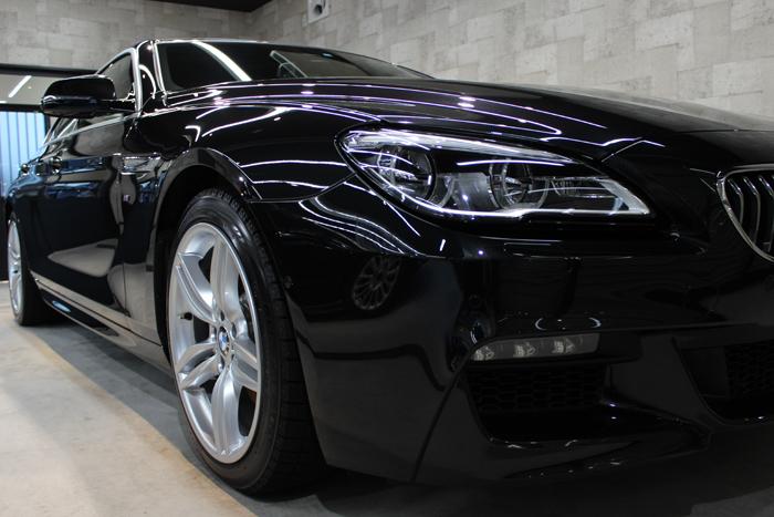 BMW 640i グランクーペ Mスポーツ ブラックサファイア 右フェンダー