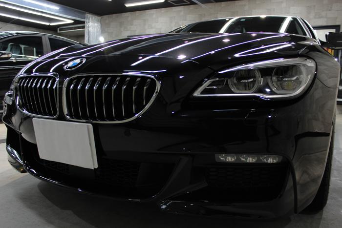 BMW 640i グランクーペ Mスポーツ ブラックサファイア キドニーグリル