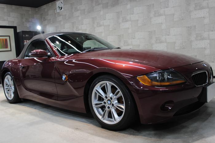 BMW Z4 メルローレッド ホイール1