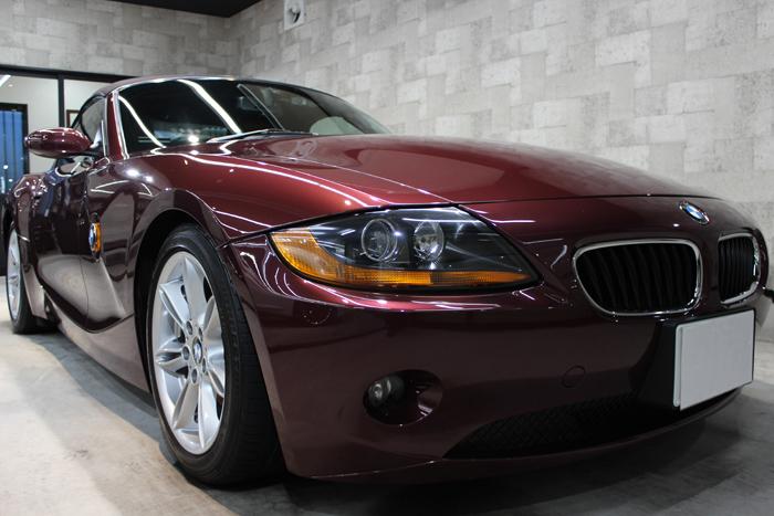 BMW Z4 メルローレッド キドニーグリル