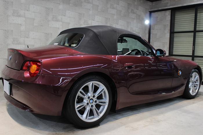 BMW Z4 メルローレッド ホイール2