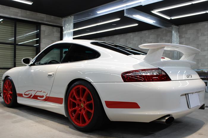 ポルシェ 911 GT3 996 キャララホワイト リアバンパー