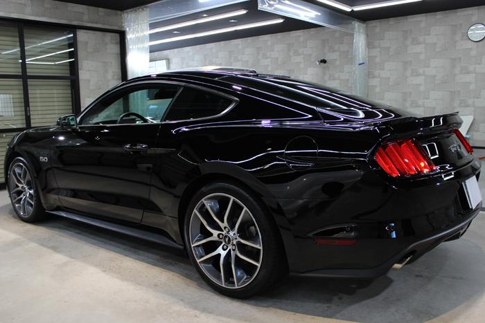 フォード マスタング ブラック ホイール3