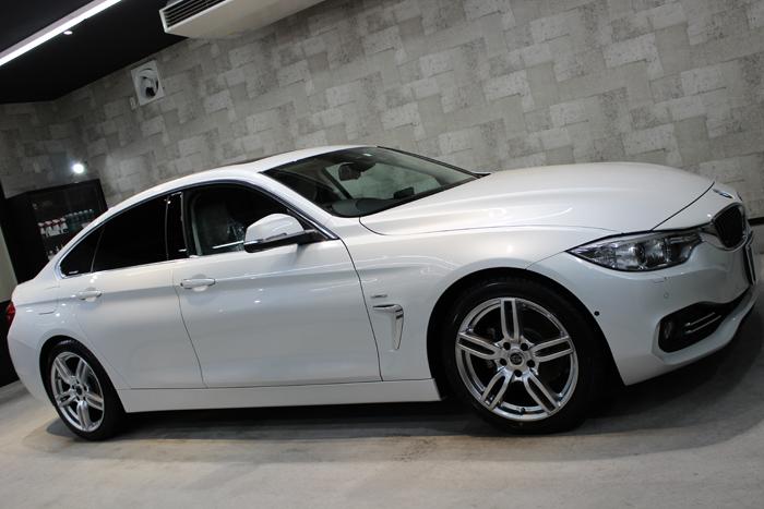 BMW 420i グランクーペ ラグジュアリー ミネラルホワイト ホイール2
