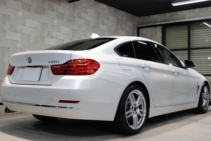 BMW 420i グランクーペ ラグジュアリー ミネラルホワイト トランク