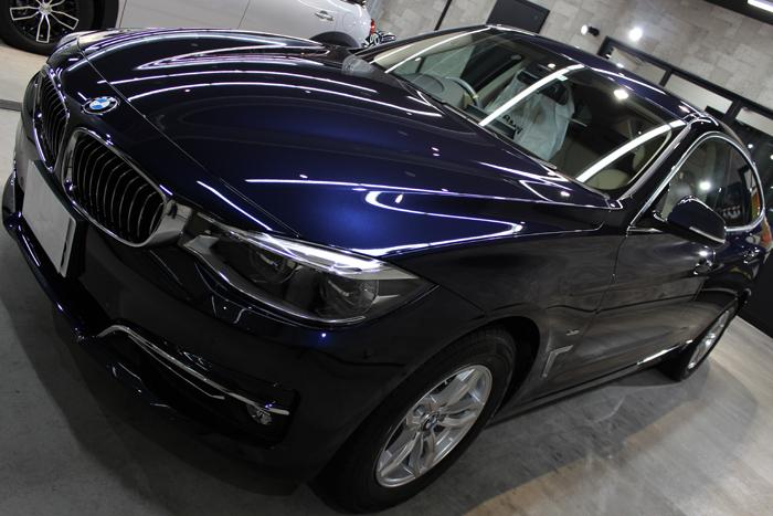 BMW 320d xDrive グランツーリスモ インペリアルブルーブリリアントエフェクト フロントバンパー2