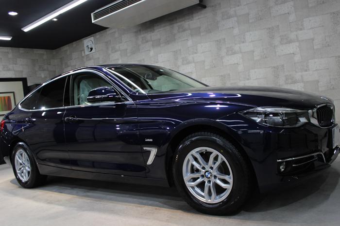 BMW 320d xDrive グランツーリスモ インペリアルブルーブリリアントエフェクト 右ホイール