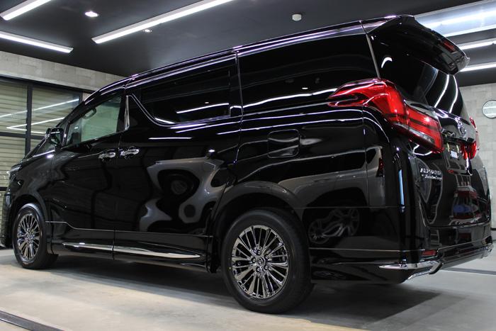 トヨタ アルファード エグゼプティブラウンジ ブラック 202 スライドドア