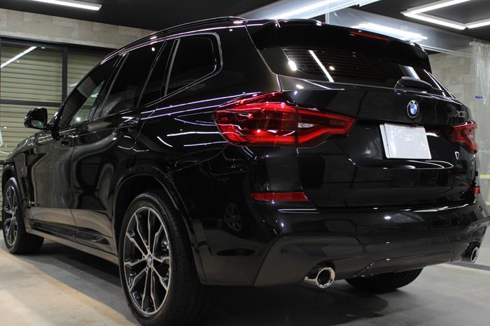 BMW X3 xDrive20d Mスポーツ ブラックサファイア テールゲート
