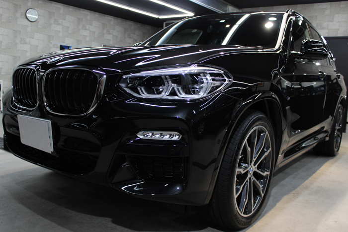 BMW X3 xDrive20d Mスポーツ ブラックサファイア ヘッドライト 左